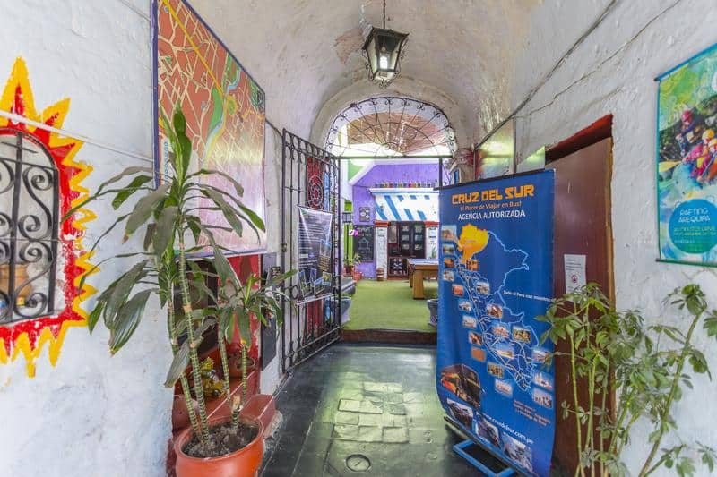 Bothy Hostel in Arequipa Peru
