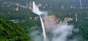 Gocta Waterfall in Chachapoyas Peru