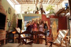 Blue House Hostel in Lima Peru