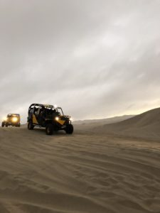 Dune buggy riding in the Peru desert oasis