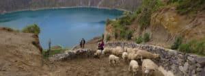 Lake Quilotoa Ecuador Hop