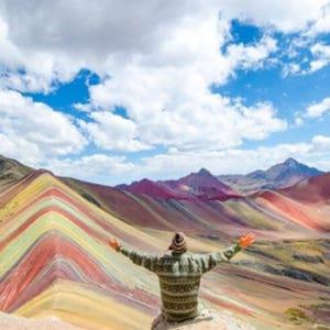 How to rainbow mountain