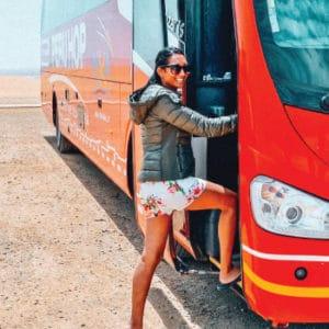 Hop off Hop on bus