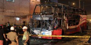 bus accident in peru