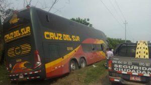 five injured cruz del sur