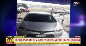 taxi robbery in peru