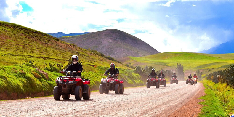 quad bike tour in cusco