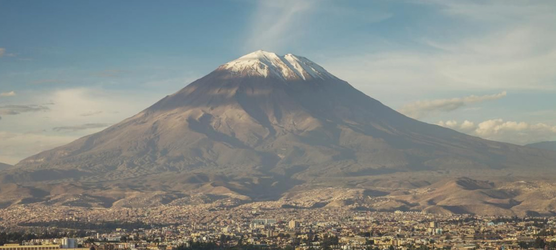 Misti Volcano in Arequipa